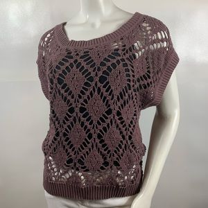 3For$20 Fossil Knit Top size M